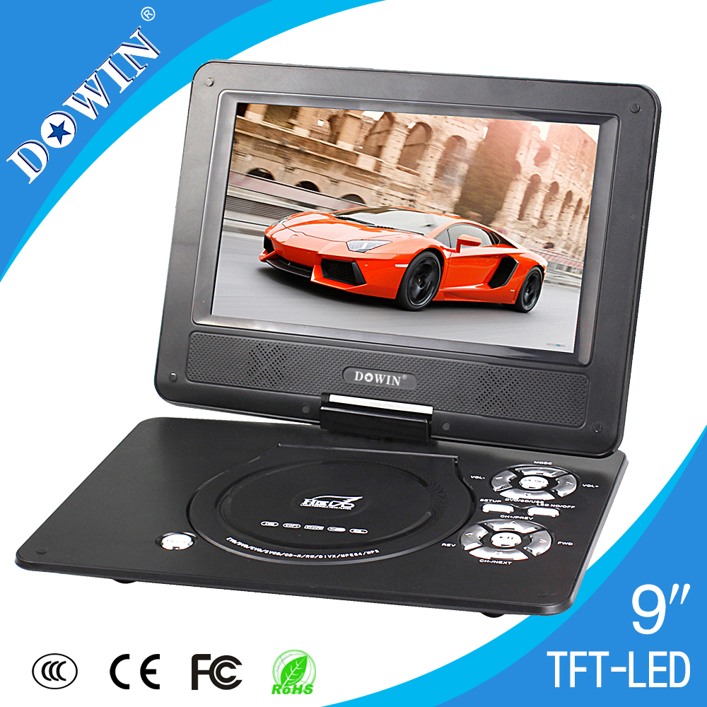 New Product Low Price Mini DVD Player Portable DVD/EVD Player With Digital TV Tuner(China (Mainland))