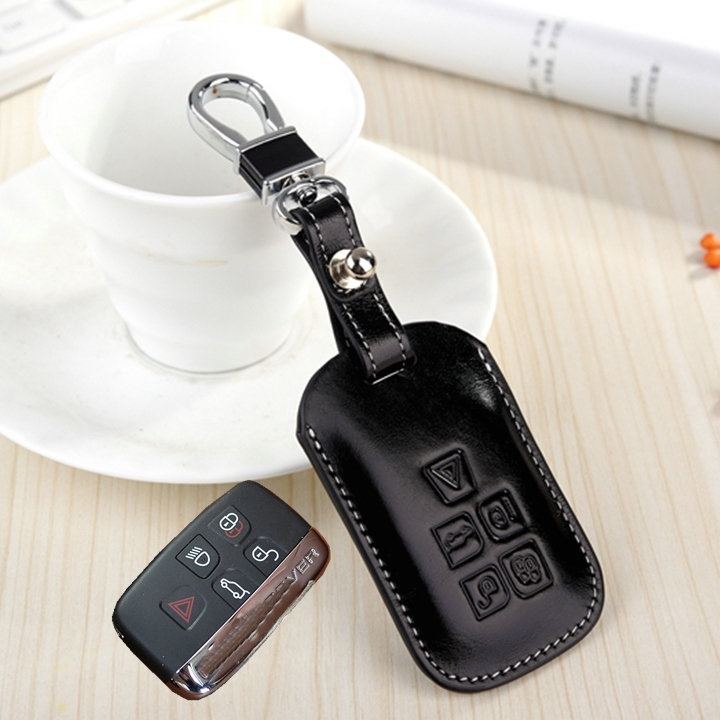 Fashion Genuine Leather Key Cover Wallet For Land Rover