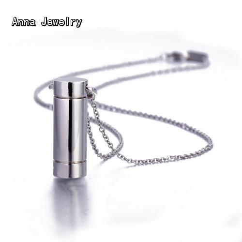 New Fashion Round Bottle Pendant Necklace,in Platinum Plated Metal.Bottle Can Be Opened.An Elegant Necklace For Christmas Gift(China (Mainland))
