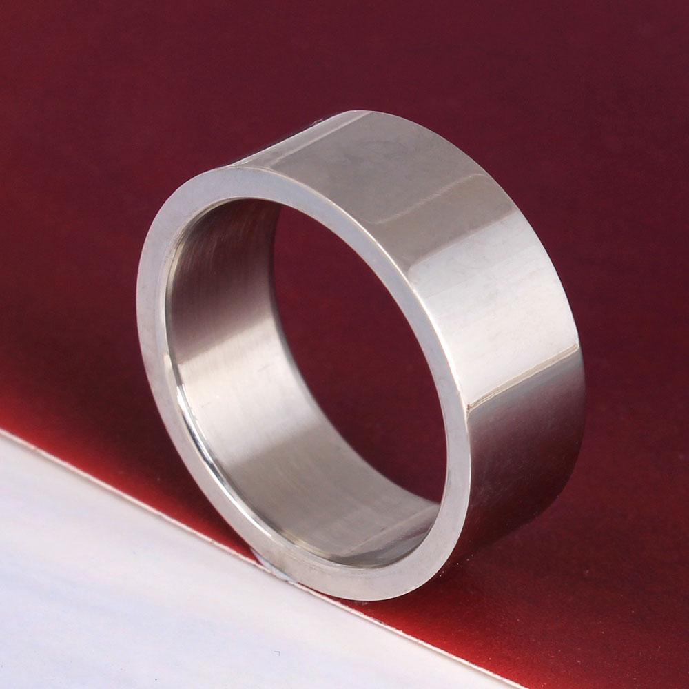 316 stainless steel ring women/men party gift vintage engagement rings Laser engrave ring diy(China (Mainland))