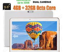 Free Shipping 3G 4G LTE  tablet 9.6 inch Octa core 1280*800 5.0MP 4GB 32GB Android 5.1 Bluetooth GPS 7 9 10 tablet pc(China (Mainland))