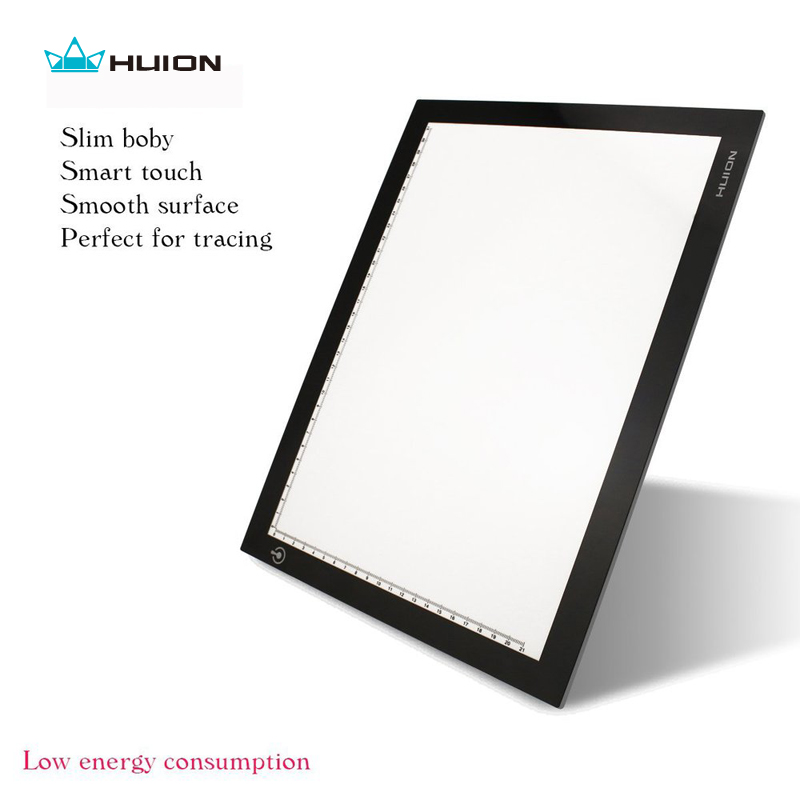 "Hot Sale Huion L4S 17.7"" LED Light Pad Ultra Thin Light Boxes LED Tracing Boards Professional Animation Drawing Tracing Panel(China (Mainland))"