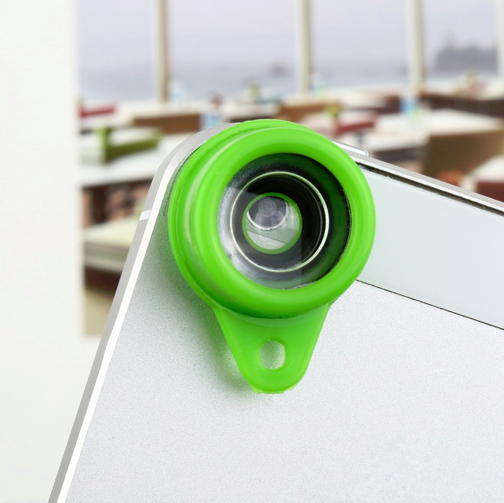 New Free Shipping Jelly Lens Fish Eye Wide Angle for iPhone Camera Phone