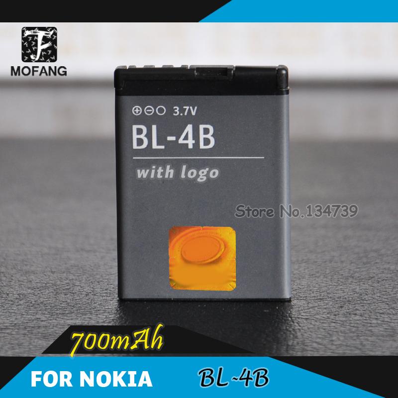 20 pcs/lot - BL-4B BL 4B battery for Nokia mobile phone 1209/1682/2505/2630/2660/2760/3606/3608C - 700mAh(China (Mainland))