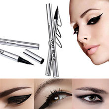 Black Waterproof Eyeliner Liquid Eye Liner Pen Pencil Makeup Beauty Cosmetic Hot(China (Mainland))