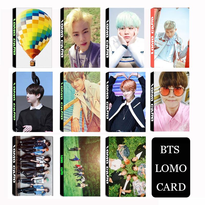 KPOP Fan BTS Bangtan Boys 2016 New Young forever Album Small Lomo Cards Photos k-pop Photocard k pop postcard pictorial bts(China (Mainland))