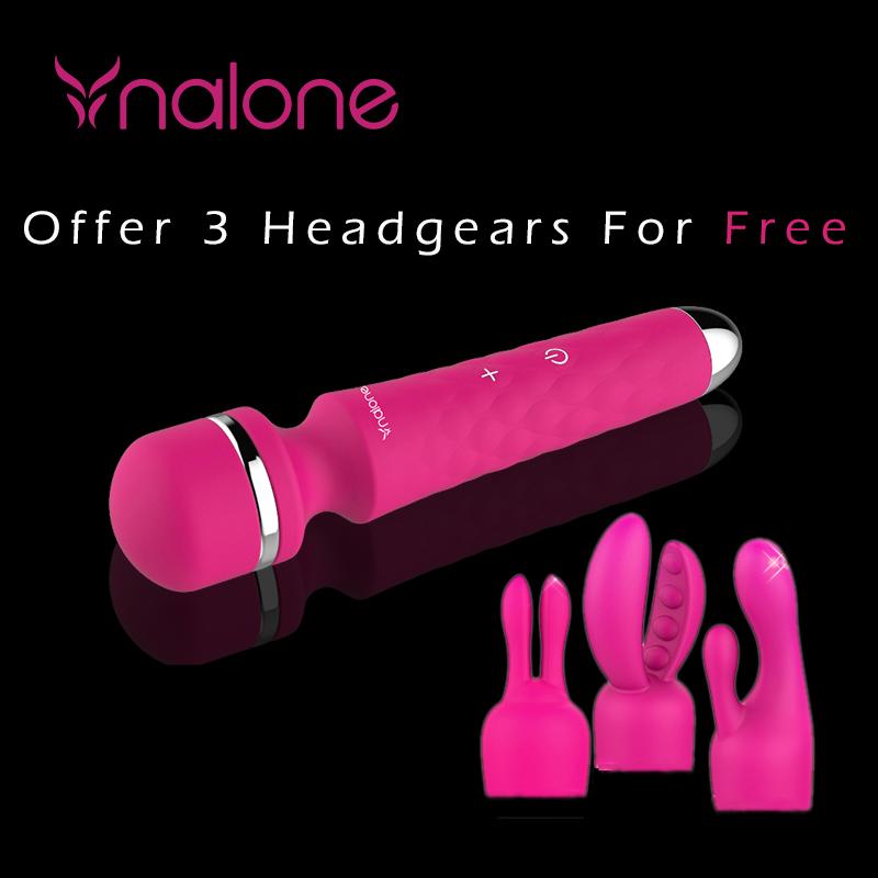 Nalone Super Powerful Multi-Speed Waterproof G-Spot AV Wand Sex Toys,Magic Wand Massager Vibrators Sex Products For Woman(China (Mainland))