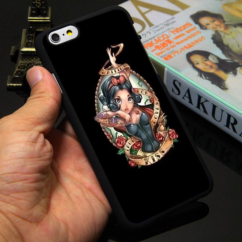 Fantasy Fairy Tale Ariel The Little Mermaid Princess Fashion Phone Case for iPhone 7 4 4s 5 5s SE 5c 6 6s plus plastic cover