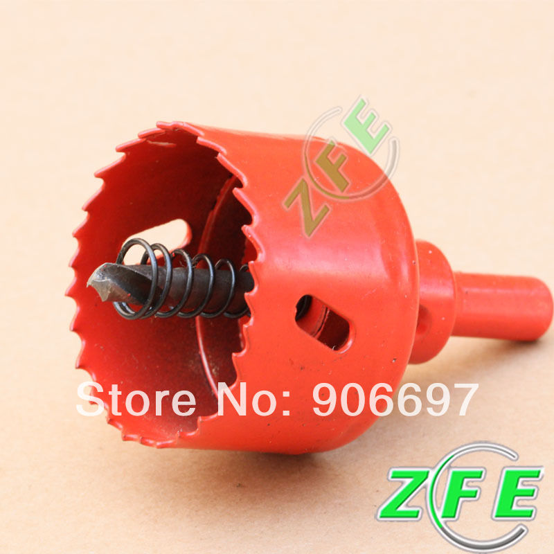 New 1PC 130mm Red Wood Aluminum Alloy Plastic Hole Saw Bit Free Shipping<br><br>Aliexpress