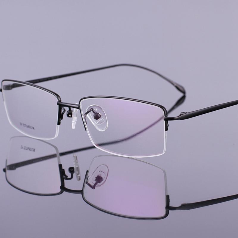 Ultra Light Titanium Eyeglasses Spectacle Frame Prescription Eye Glasses Eyewear Optical Frame For Men(China (Mainland))
