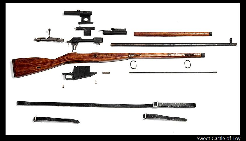 1/6 Ti-Lite Action Figure Accessory - Mosin Nagant Sniper Rifle(China (Mainland))