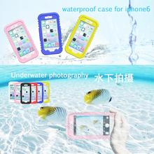 Mobile Phone Accessories Dustproof Shockproof Waterproof Clear Back Case Cover for iPhone 6 4.7″