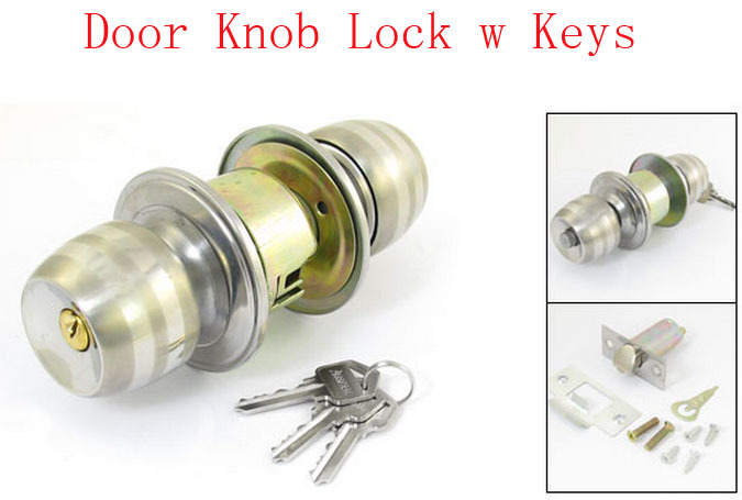 Bedroom Door Lock. Ohuhu Wave Lever Keyed Entry Door Lock Door ...
