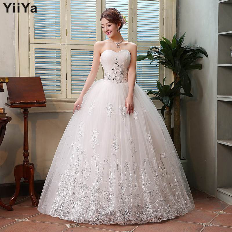 Latest Wedding Dresses And Their Prices : Gown lace romantic wedding dress fashion bride dresses price