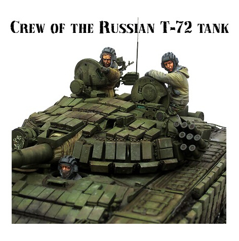 Resin Kits 1/35 Scale Modern Russian army soldiers Chechen war tank soldier Resin Model Free Shipping(China (Mainland))