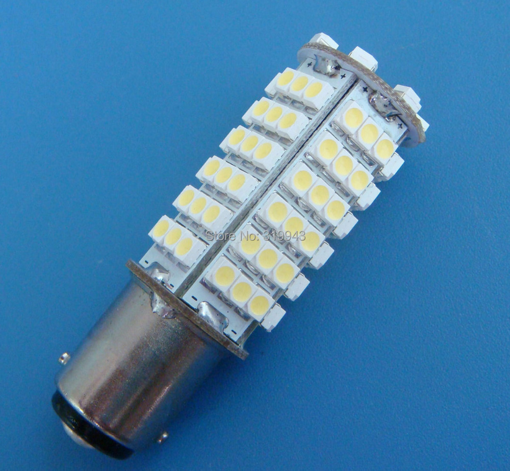 1x BA15D 1142 White/Warm White LED bulb lights 102-1210 SMD DC12V 340LM - xiaoling duan's store