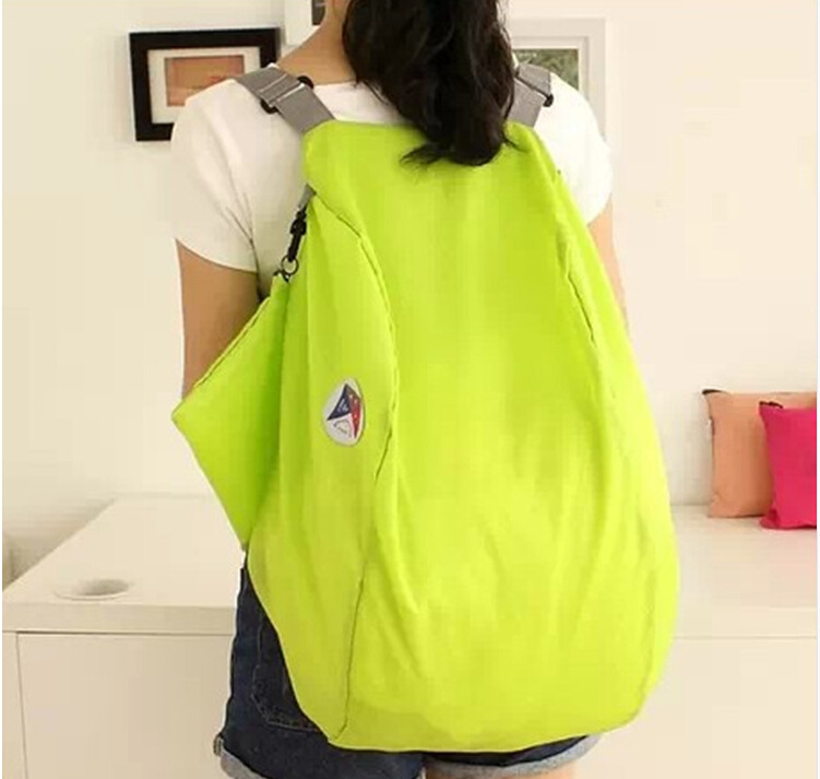 2015 New women backpack travel bag folding backpack collapsible shoulder bag large capacity bags mountaineering backpack(China (Mainland))
