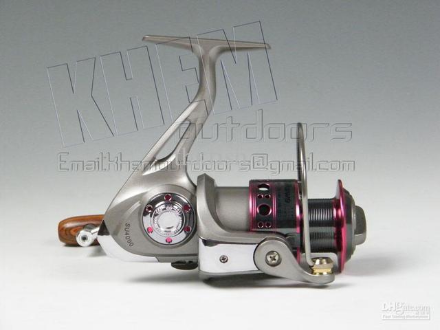 Promotion! 6Pcs Pack Yoshikawa SU 4000 9+1 BB Aluminium Fishing SpinningFresh water Salt Water Reel
