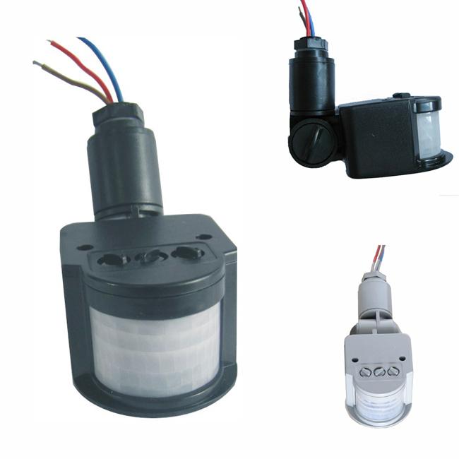 220V LED PIR Infrared Motion RF Sensor Detector For