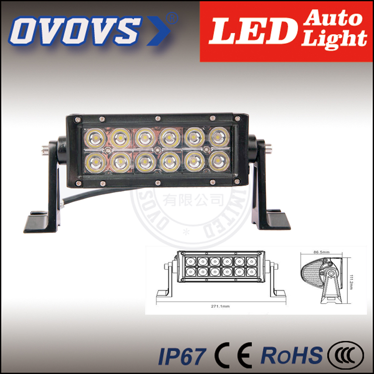 OVOVS China supplier wholesale 12v 36w led floodlight for auto part with one year warranty(China (Mainland))