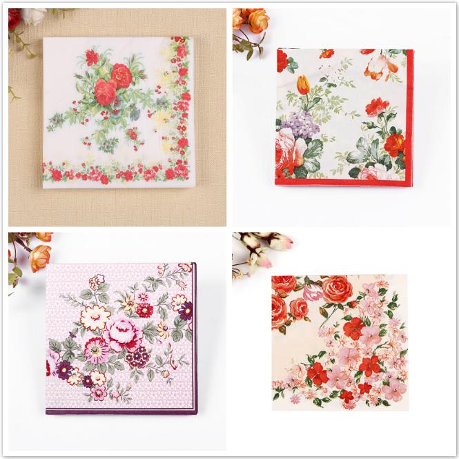 designer paper napkins