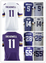 11 Laquon Treadwell 5 Teddy Bridgewater 14 Stefon Diggs 28 Adrian Peters 26 Trae Waynes 55 Anthony Barr 84 Cordarrelle Patterson(China (Mainland))