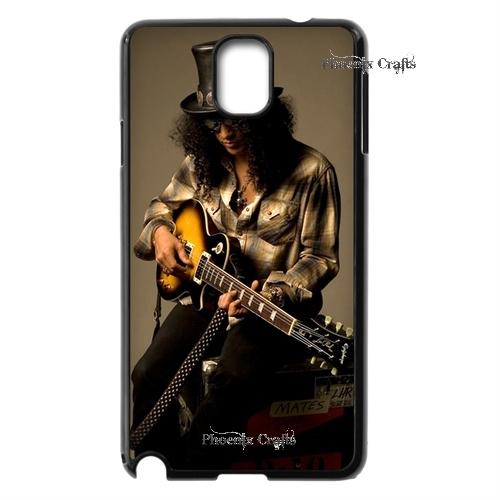 Premium Designs Guns n Roses Retro Slash wooden case branco caso Hard plastic case for Samsung Galaxy note3 Special(China (Mainland))