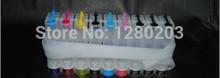 8 Color 1 Set Empty CISS for Epson T0971-9 for Epson Stylus Photo R2880