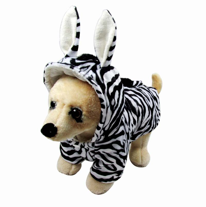 Zebra Pet Costume Halloween Festival Pet Costume