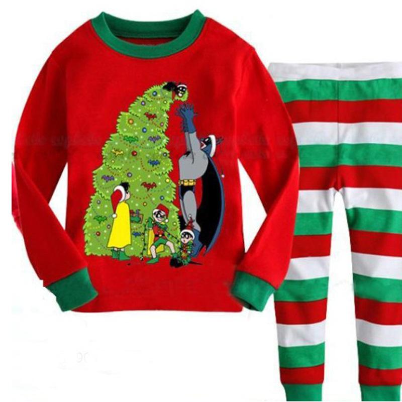 948987406 Children S Clothing Set Kids Christmas Pajama Set Cartoon Boys ...