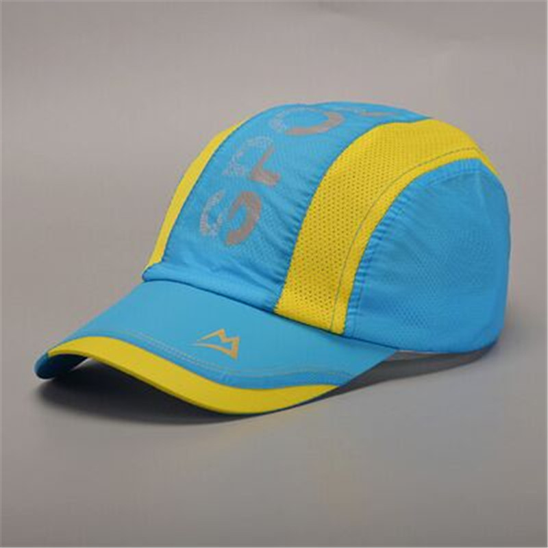 Male spring and summer outdoor leisure mountaineering baseball cap female sun visor cap child riding a thin free shipping(China (Mainland))