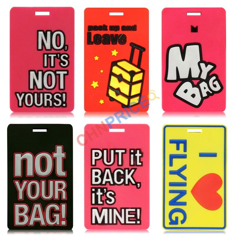 SC1006 Free Shipping New Arrive Popular Luggage Tag Portable Suitcase Bag Tag Mixproof Security(China (Mainland))