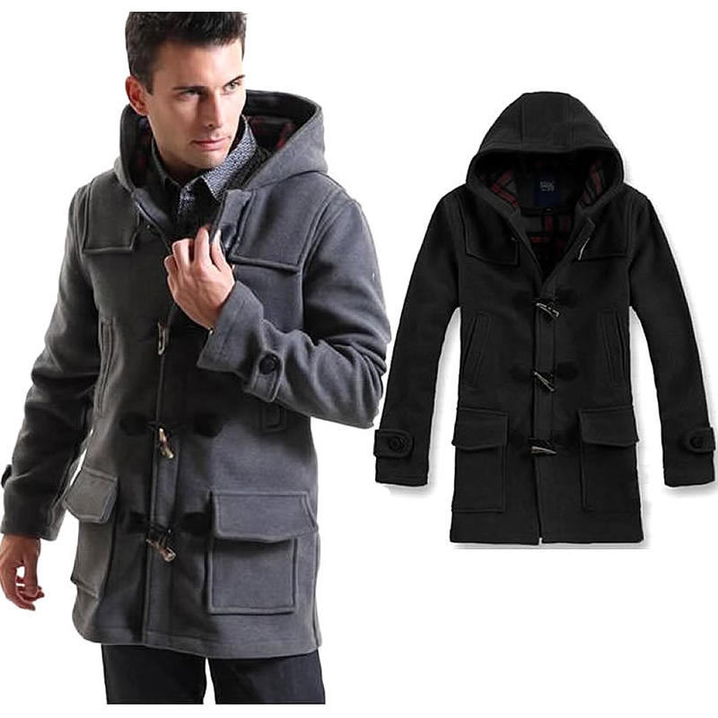 Images of Men S Pea Coats Cheap - Reikian