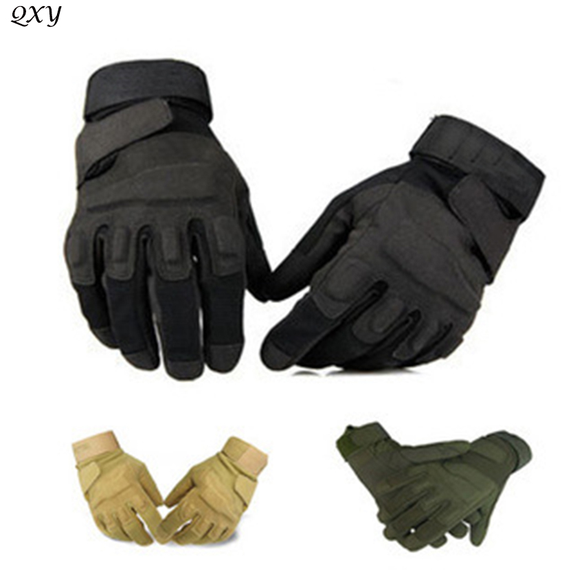 Hot Blackhawks US special forces military tactical gloves slip outdoor sports men's long fight mittens fitness equipment(China (Mainland))