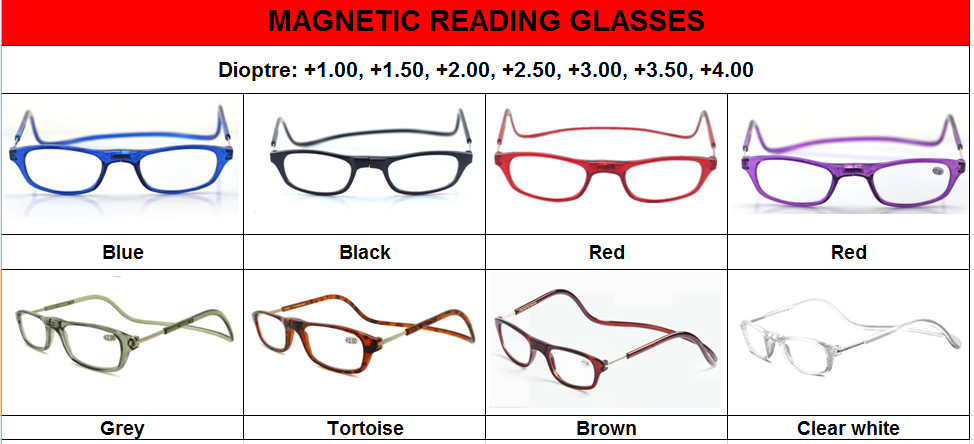 (12pcs/lot) Colorful folding reading glasses/plastic reading glasses accept mixed order(China (Mainland))