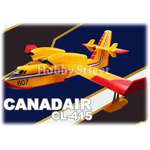 CL-415 EPS 1390mm wingspan big size RC warbird Model airplane RTF full set with Twin 2208 brushless motor and 20A ESC wholesale(China (Mainland))