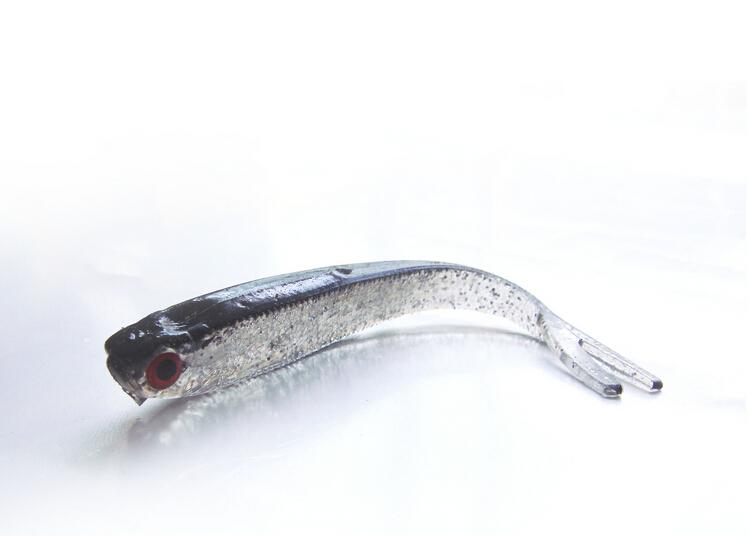 10 PCS SF Super Soft Fishing Lures Worm Bass Trout Shad Crank Swim Bait 10cm 4g(China (Mainland))