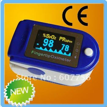 FDA CE proved 4 direction 6 modes OLED color display Fingertip Pulse Oximeter Spo2 Test Monitor / 6 colors for your choice