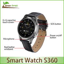 Bluetooth-смарт часов ZGPAX S360 SOS наручные мода Smartwatch фитнес трекер шагомер Snyc к IOS Android смартфон