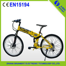 2016 High Quality Unique Design with hidden battery 26 inch 350W 36V Electric Bicycle(China (Mainland))
