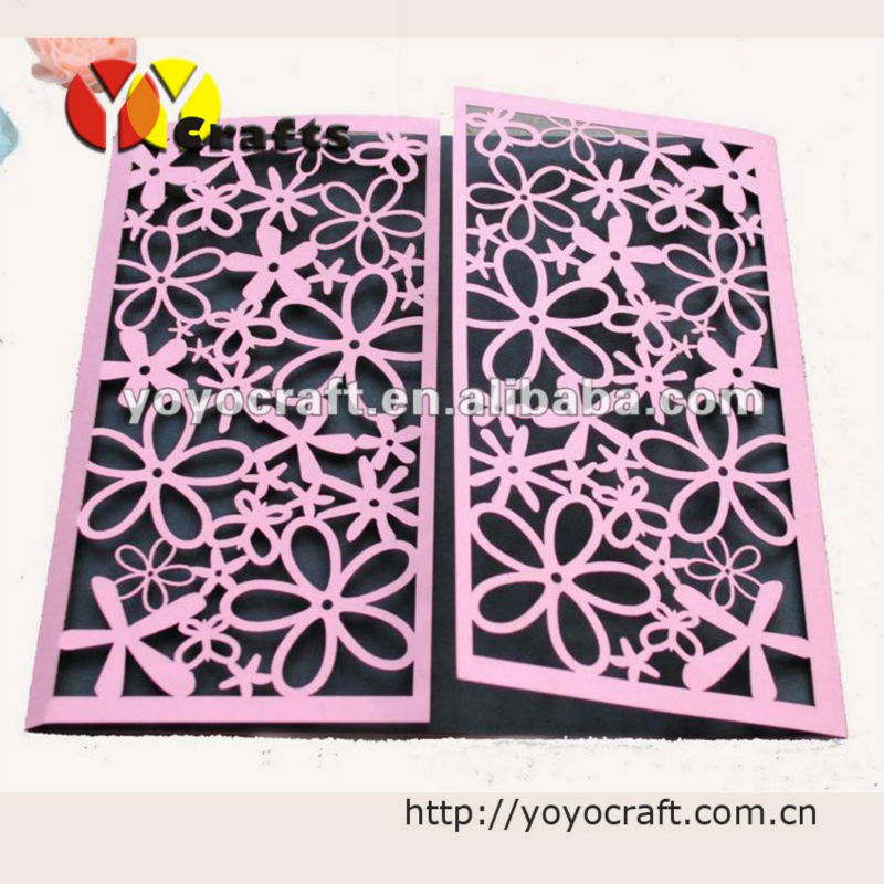 2015 low price wedding supplier indian wedding invitation cards in