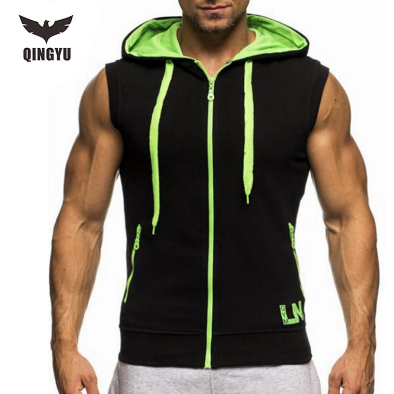 Tank top men 2016 brand male sling zipper decoration for Best mens dress shirts 2016