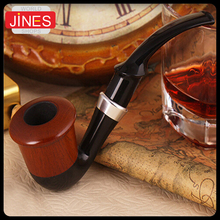 High-grade Smoking Tobacco Pipes Curved loop filter Wooden Fashion Gift Easy to clean Smoking accessories Free shipping