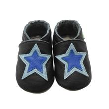 Sayoyo Brand Pattern Leather Baby Moccasin Print Soft Soled Newborn Baby Girl Shoes Boy Toddler First Walkers()