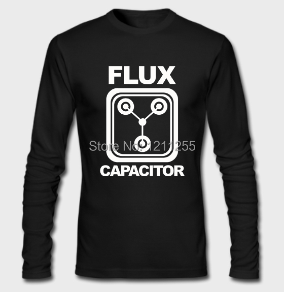 Back To The Future Flux Capacitor Fashion Long Sleeve T