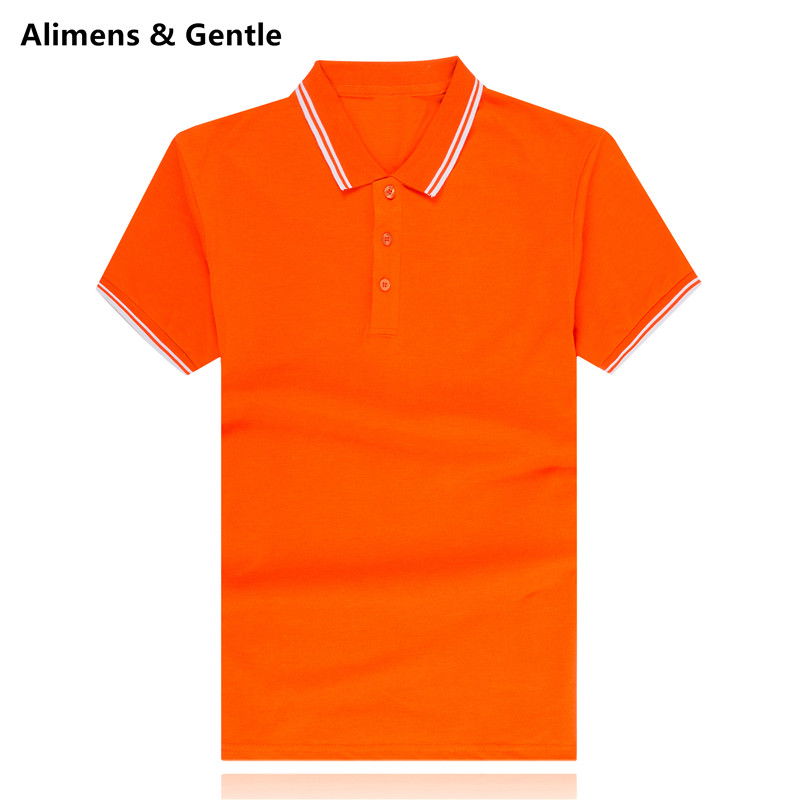 mens polo shirt polos short sleeve cotton solid color classic male social shirt golf homme casual Size M L XL XXL XXXL(China (Mainland))