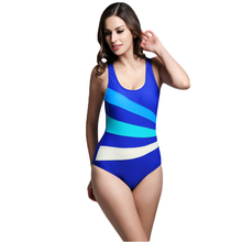 Patchwork Swimwear Female Sport Swimsuit for women Bodysuit one-piece bathing suit one piece maillot de bain high cut backless