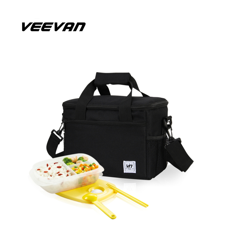 Folding Insulation Large Meal Package Lunch Bag Crossbody Women Child Cold Storage Take-away Shoulder Bags Ice Pack Cooler Bag(China (Mainland))