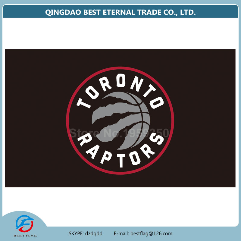 BEST FLAG -NBA Toronto Raptors Large Outdoor 3x5 Banner Flag(China (Mainland))