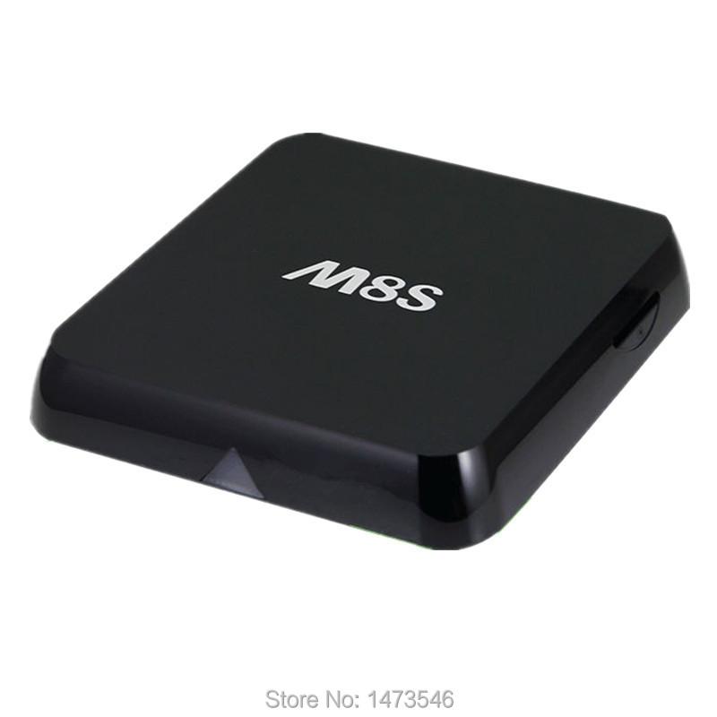 Wholesale S812 set top box Original amlogic Quad core 2.0ghz mini pc 4k M8S kodi box 2g OTT TV box M8 S BT4.0 media player h265(China (Mainland))